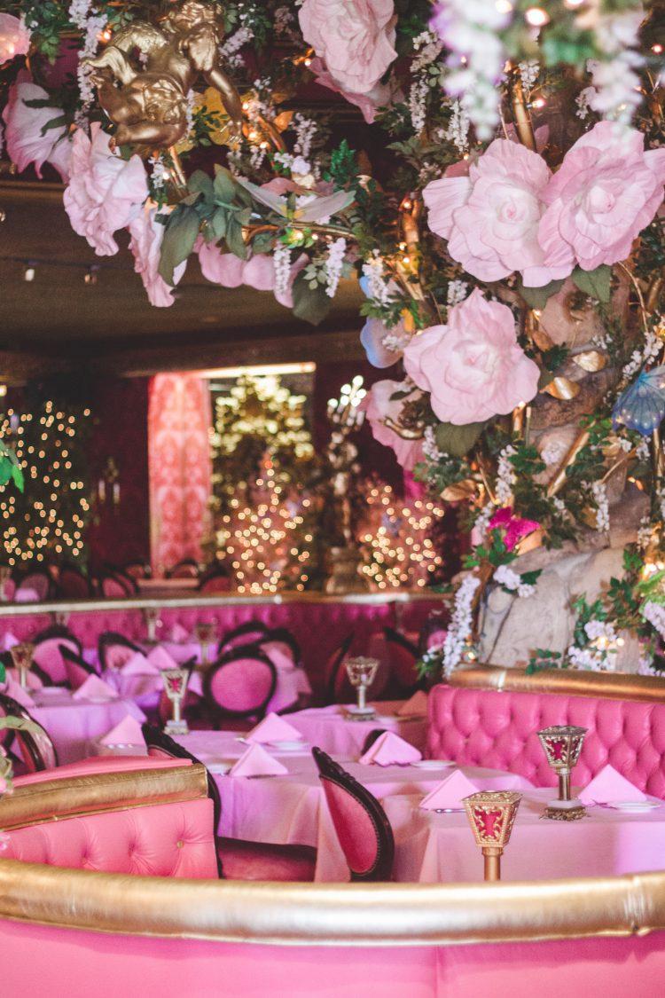 Pink Restaurant at the Madonna Inn in San Luis Obispo