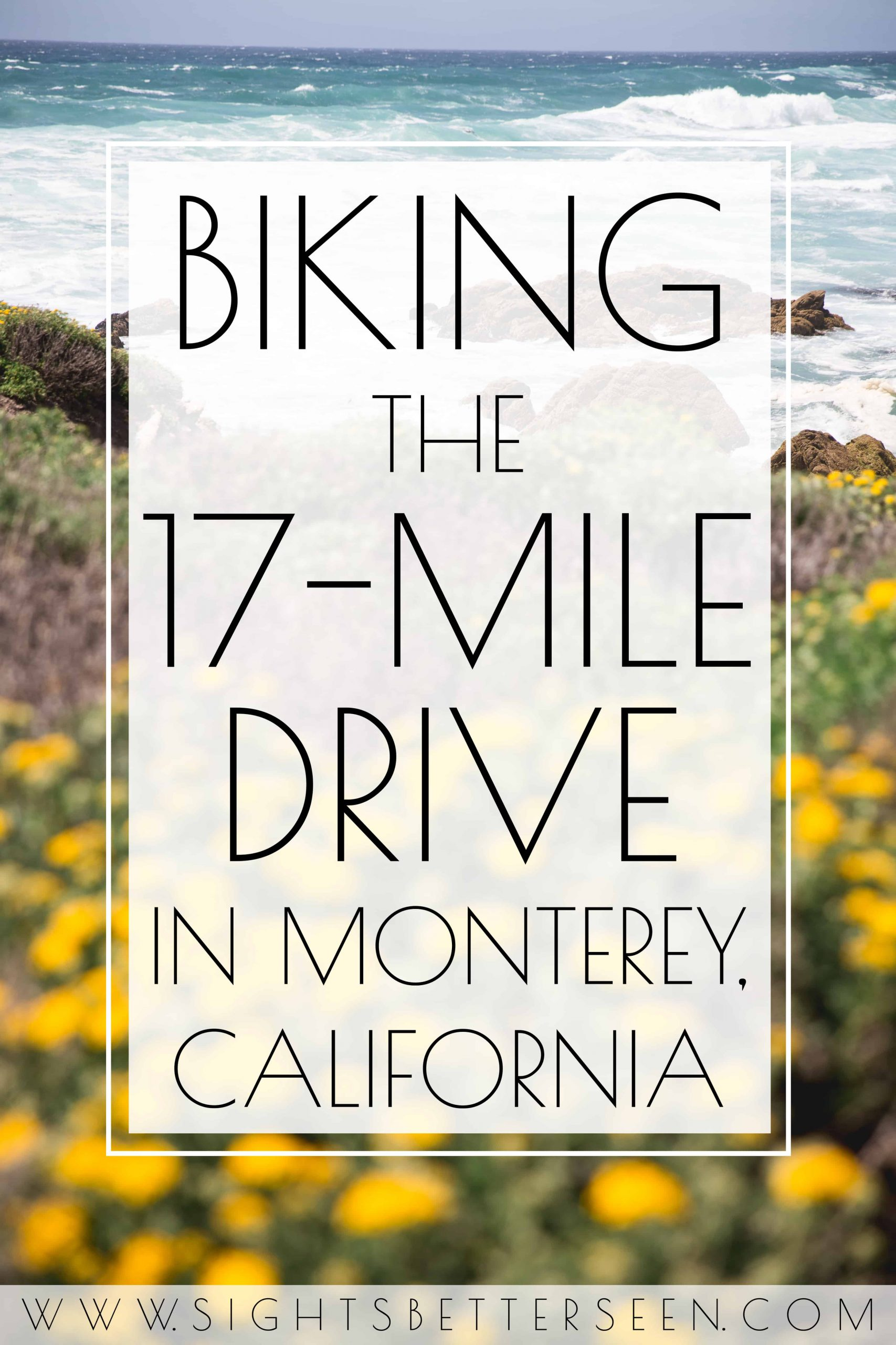Biking the 17 Mile Drive in Monterey, California - All you need to know!