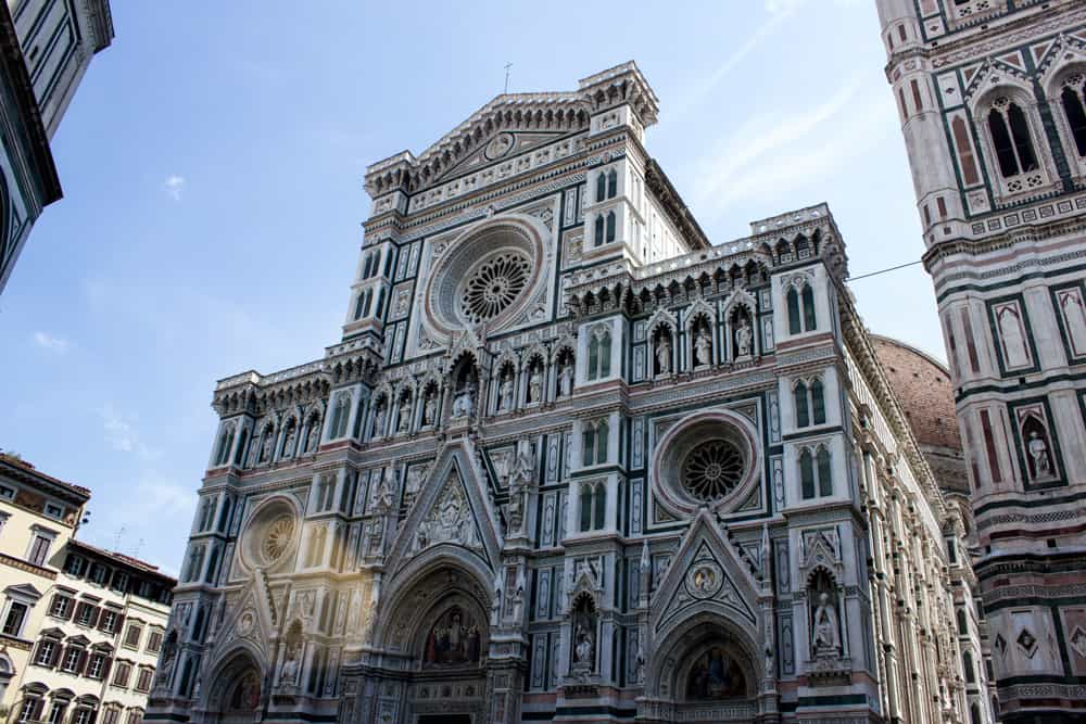 Cathedral in Florence, Italy - truth behind the photo