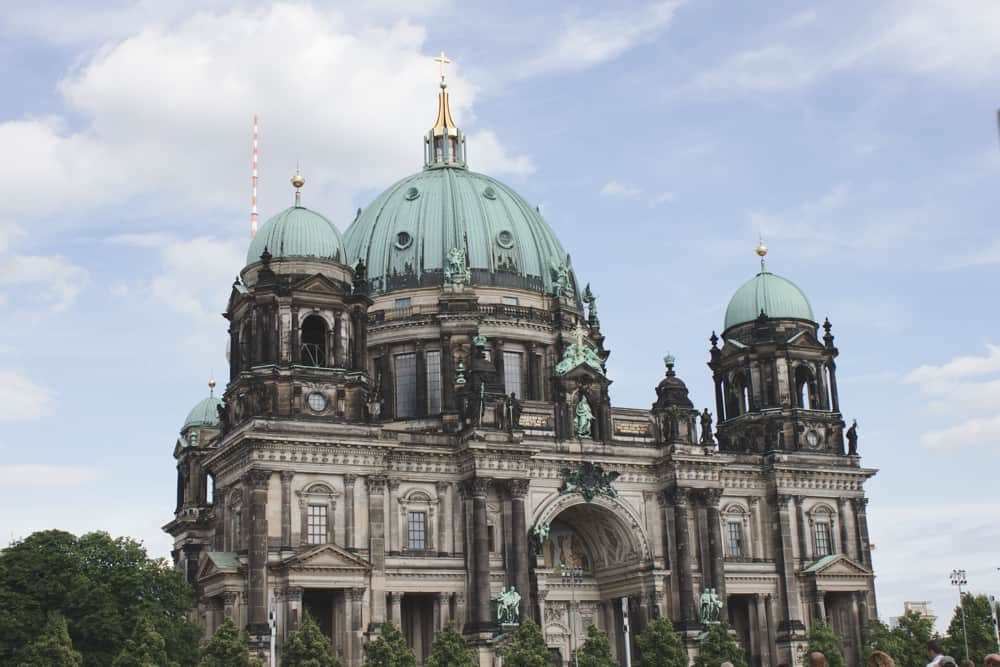 The Berlin Cathedral in Berlin, Germany