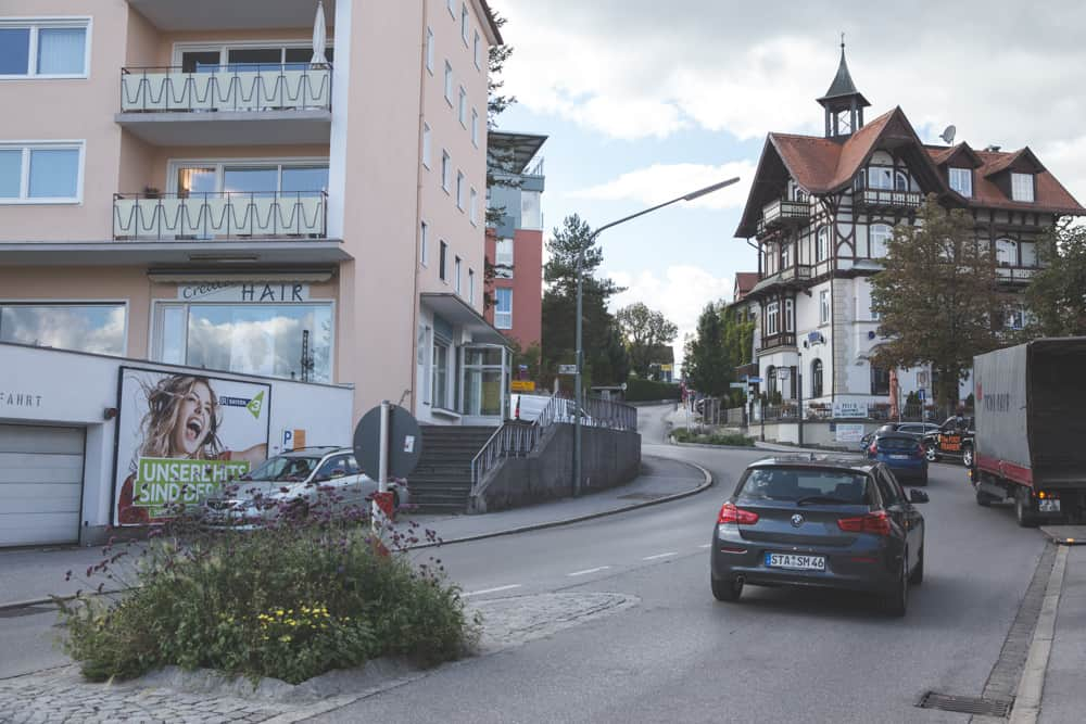 Town Center of Starnberg in Germany