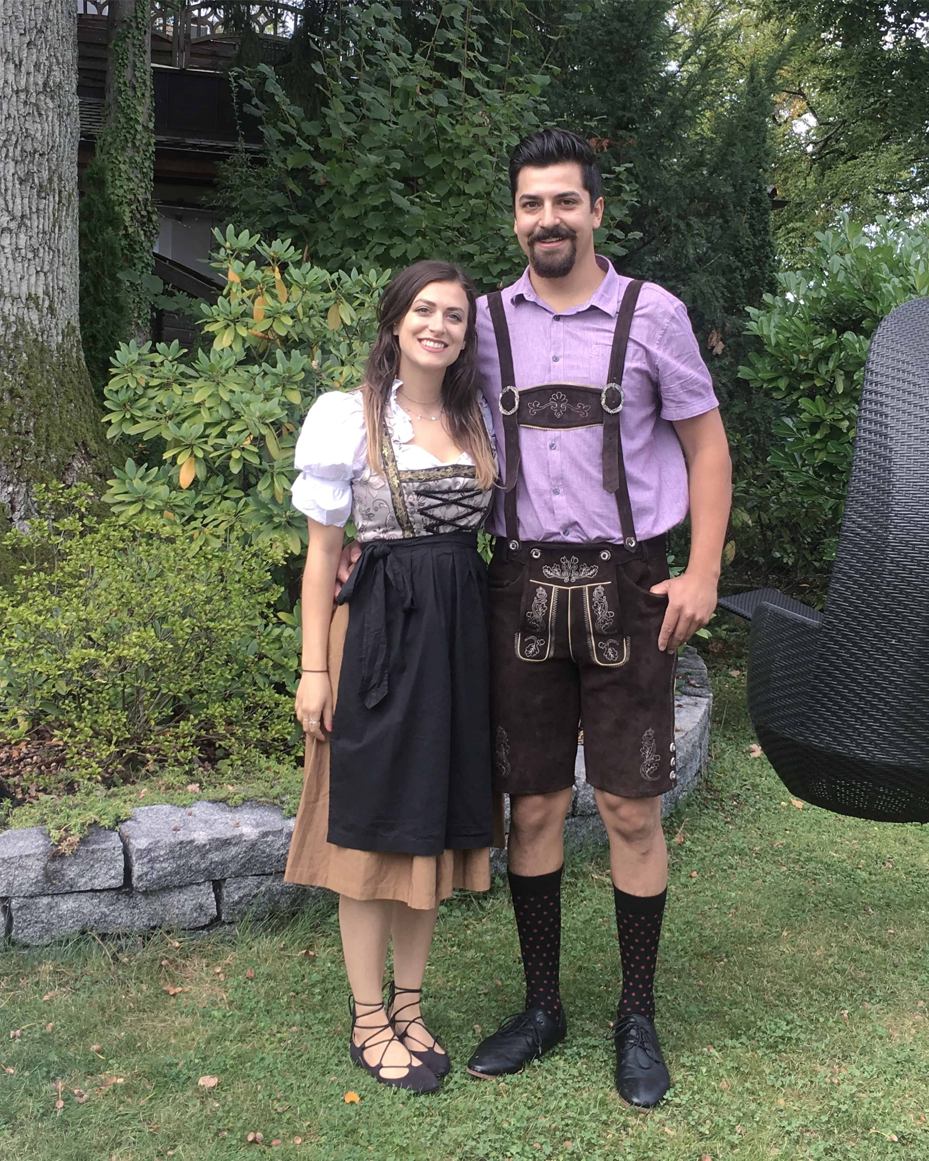 Oktoberfest outfits - Lederhosen and Dirndl - in Starnberg, Germany