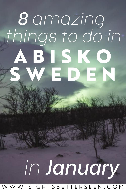 Northern lights in Abisko, Sweden