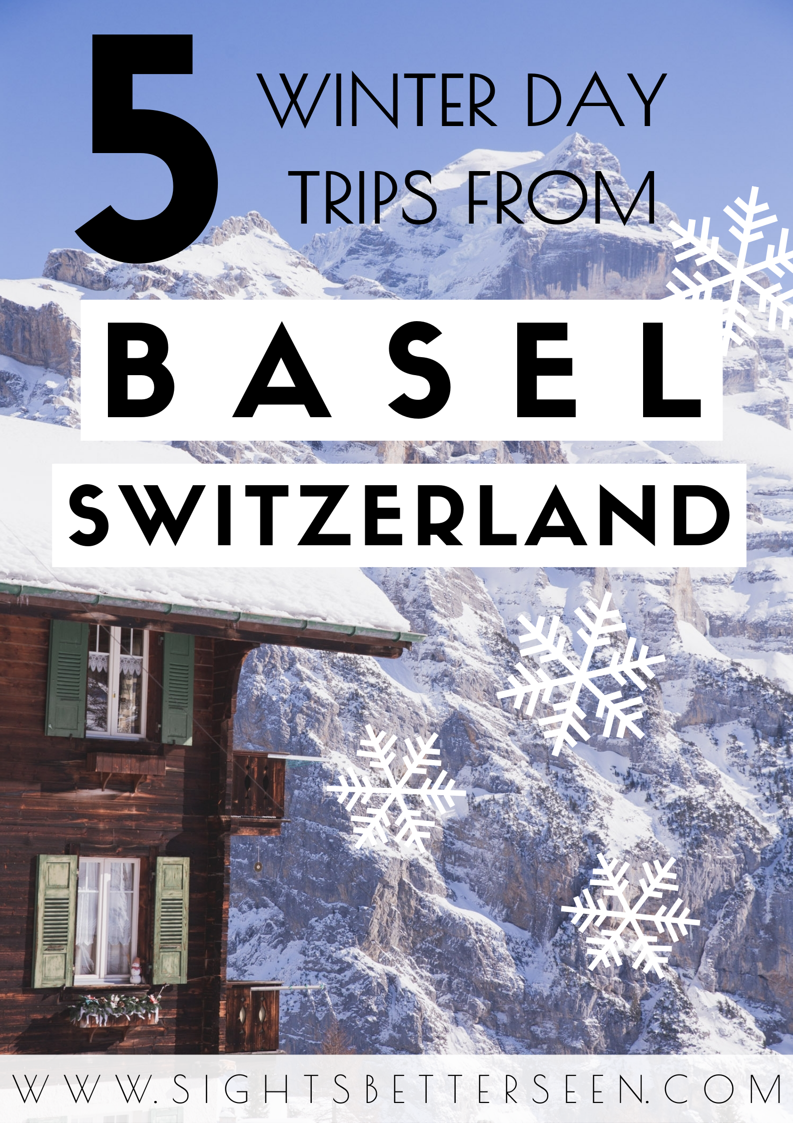 The best day trips from Basel, Switzerland to take in the winter! Winter in Switzerland is beautiful and there are many amazing destinations, like the Swiss Alps, and many towns and cities.