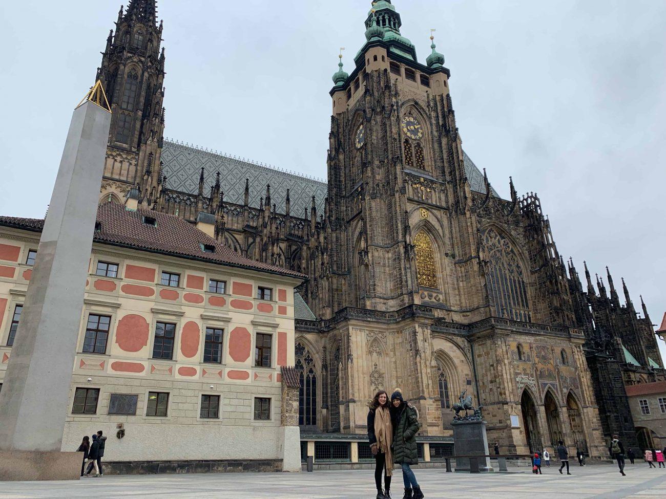 The Prague Cathedral in Prague, Czech Republic