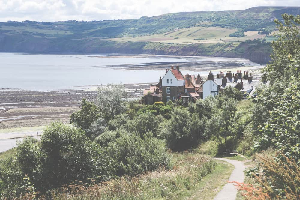 Robin Hood's Bay in England