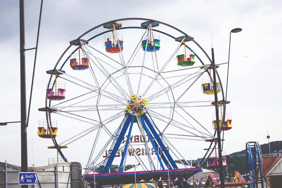 Ferris Wheel in Scarborough, England