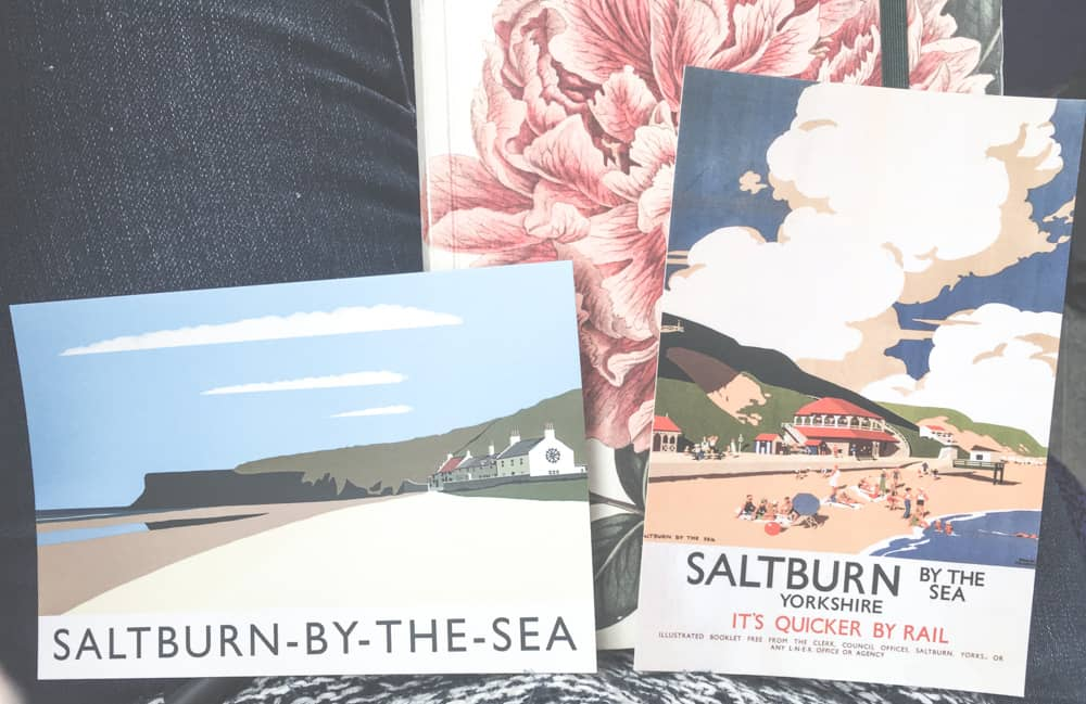 Vintage Saltburn-by-the-Sea postcards from Saltburn Sation Gallery