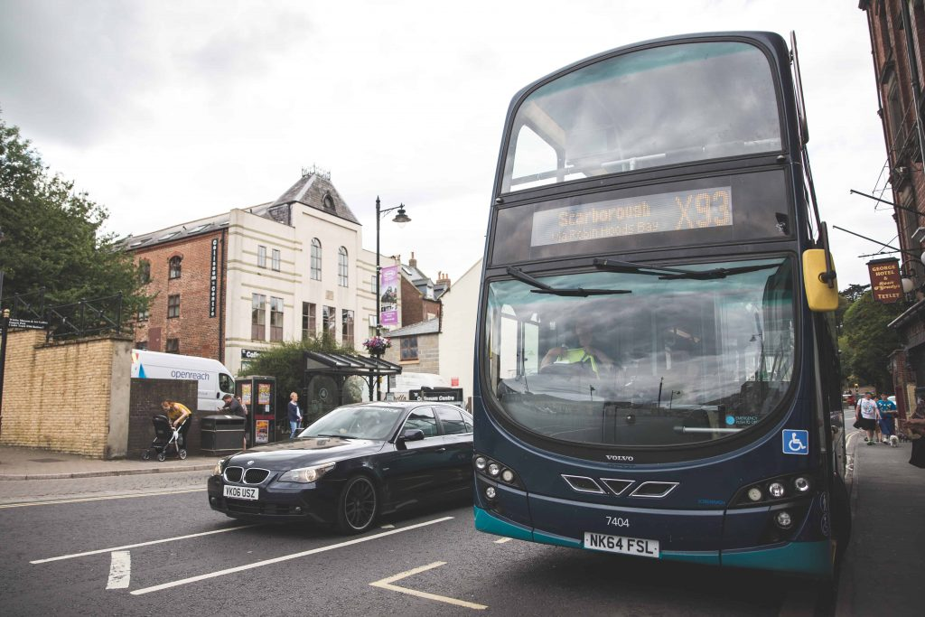 Arriva Buses are the perfect way to travel between Yorkshire coastal towns like Saltburn-by-the-Sea, Staithes, Robin Hood's Bay, Whitby, and Scarborough!