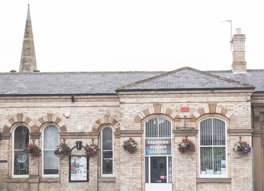 The Saltburn Station Gallery is a cute shop in Saltburn-by-the-Sea, England