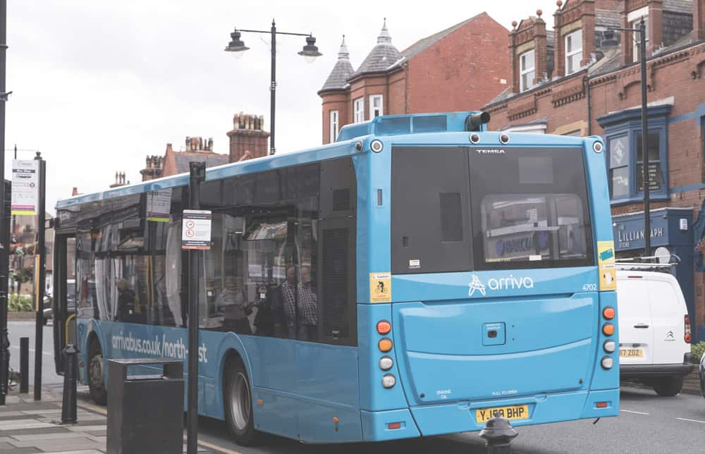Arriva buses in Saltburn-by-the-Sea, England are the best mode of public transportation