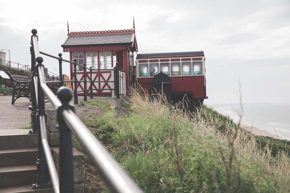 The Saltburn Cliff Tramway in Saltburn-by-the-Sea, England
