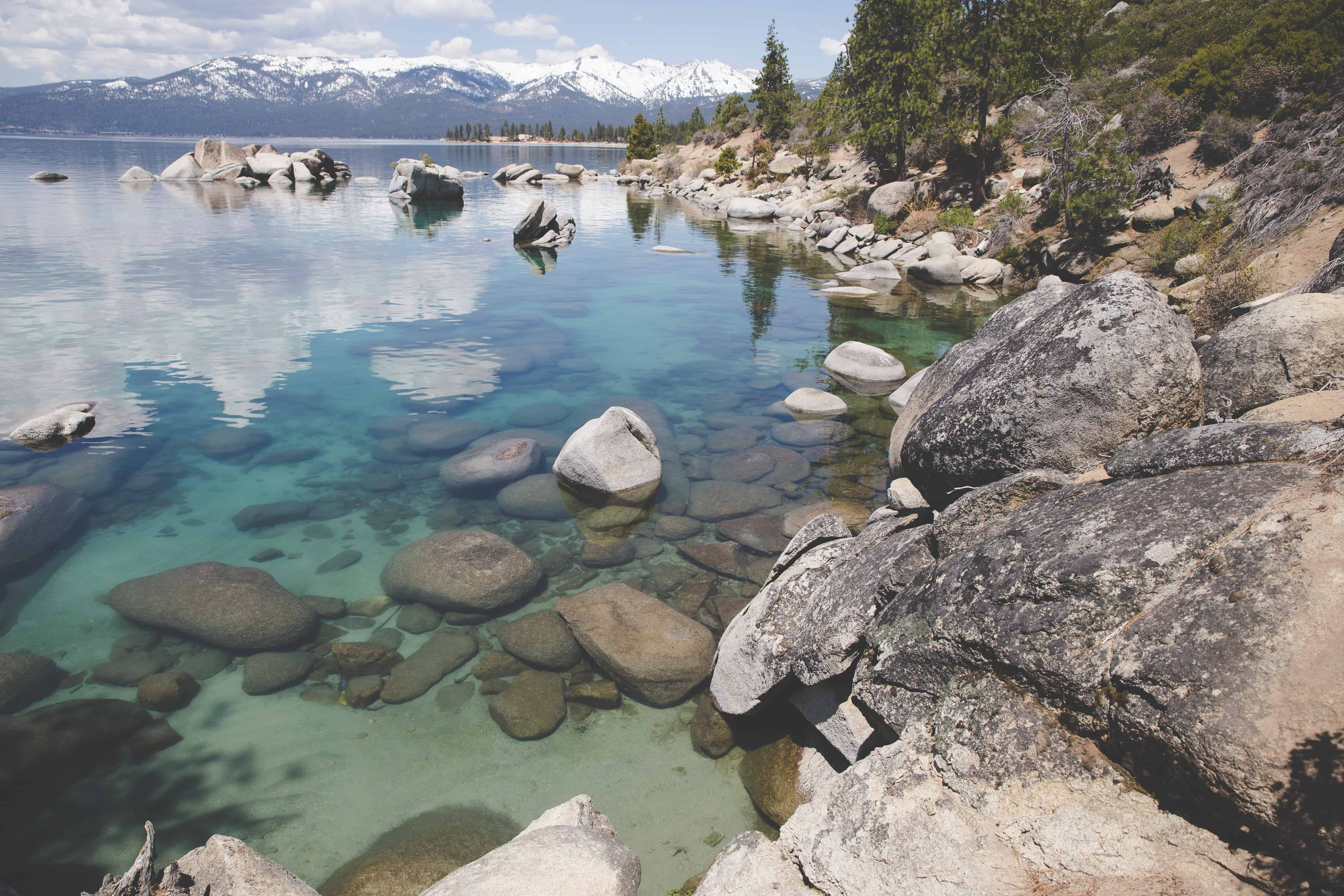 North Lake Tahoe in California is a great place to visit during fall in Northern California