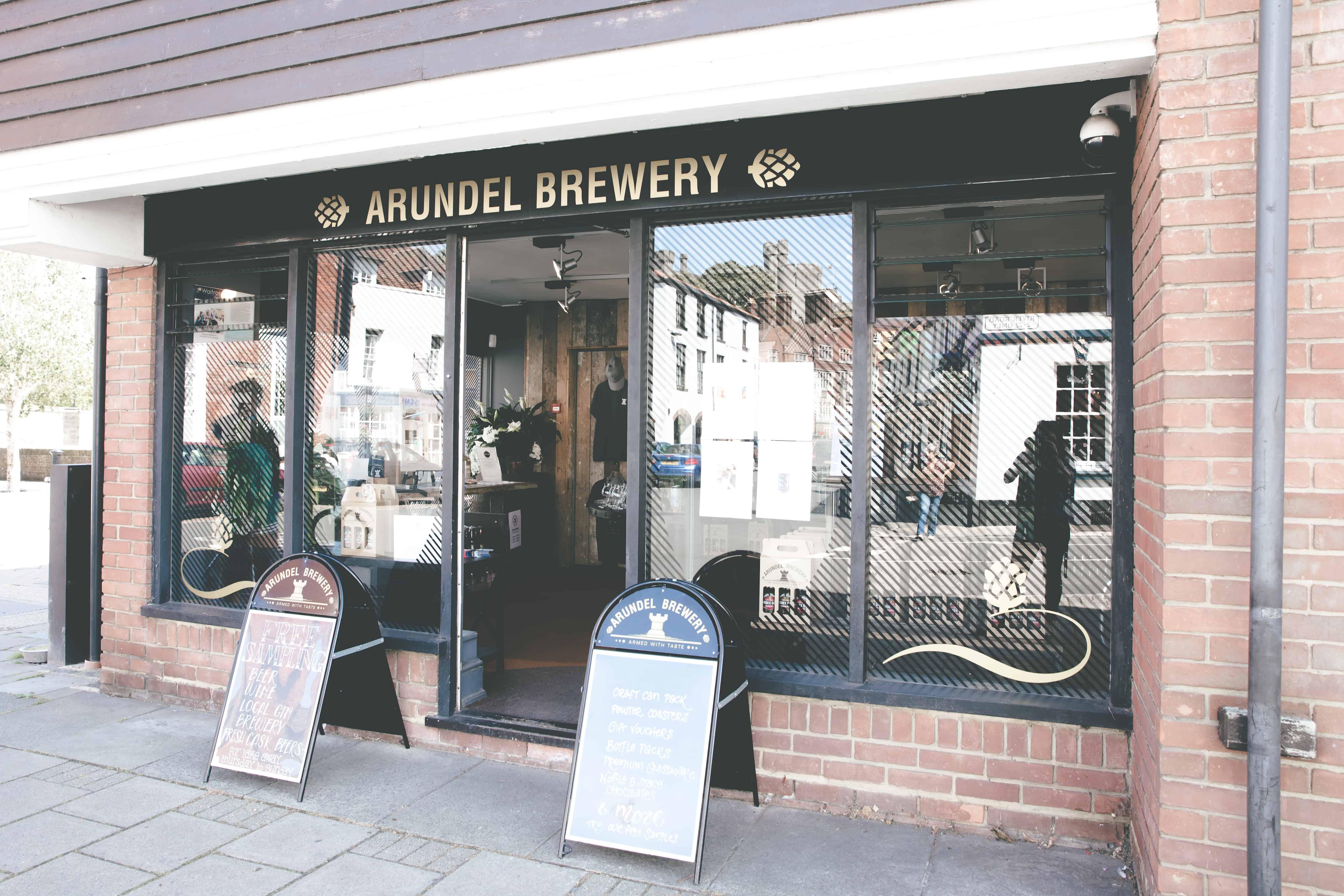 Arundel Brewery in Arundel, England