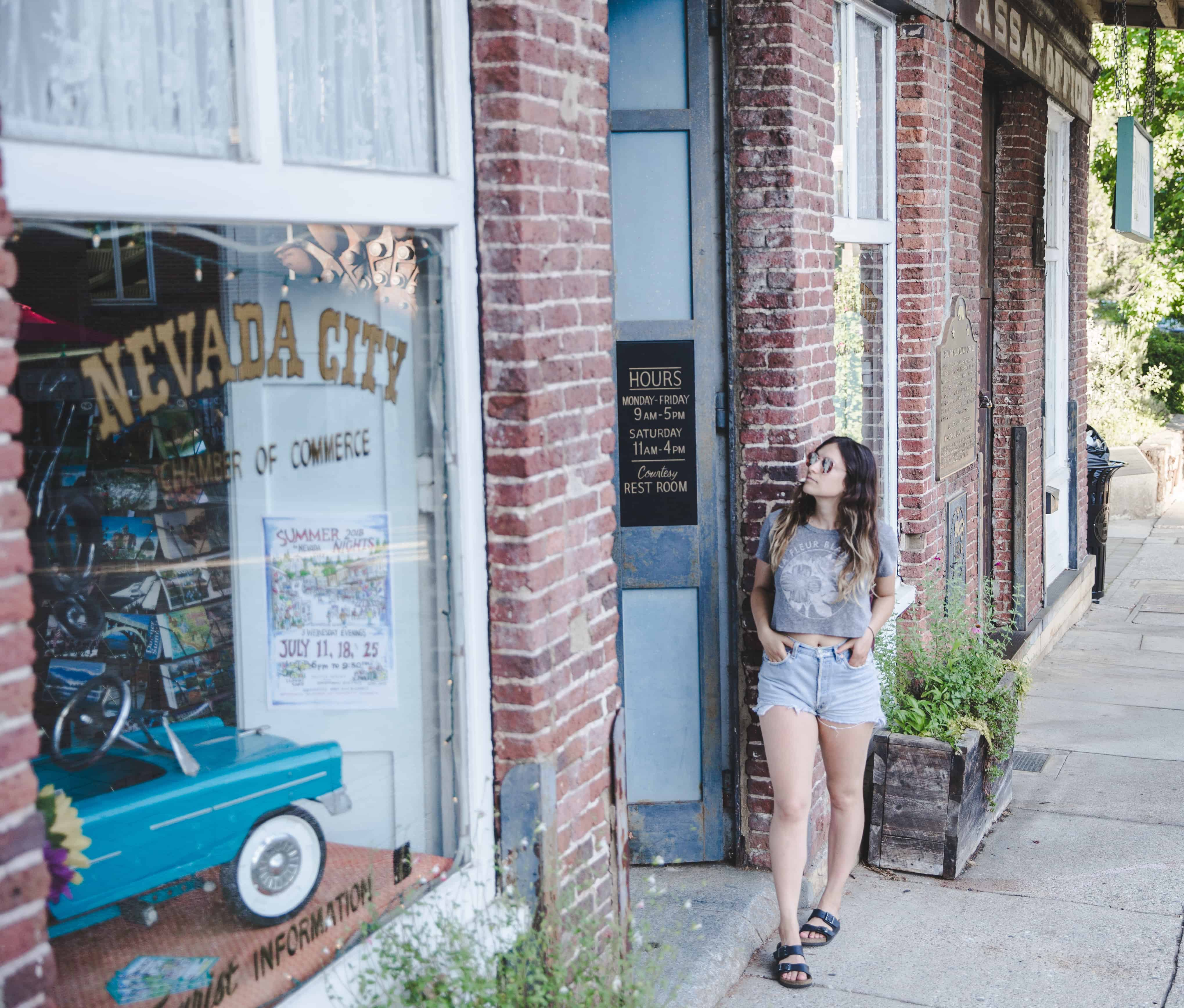 Nevada City in Gold Country in California is a great fall destination