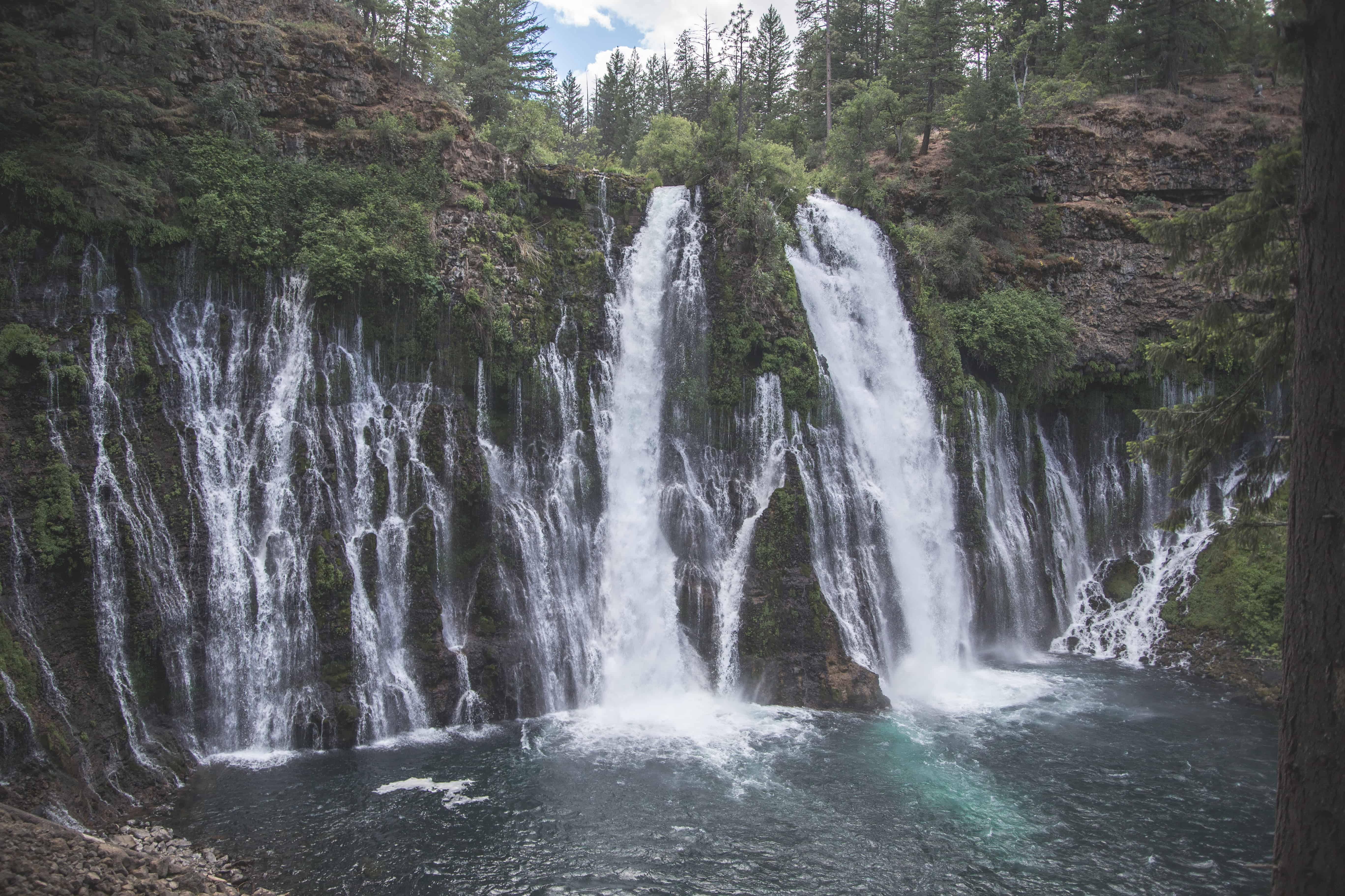 Burney Falls in McArthur-Burney Memorial State Park in Northern California is a great fall destination!