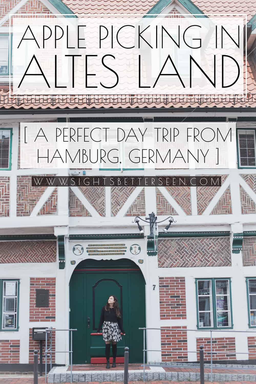 "Altes Land (meaning ""Old Land"") near Hamburg, Germany is a great place to go apple picking during the fall season!"