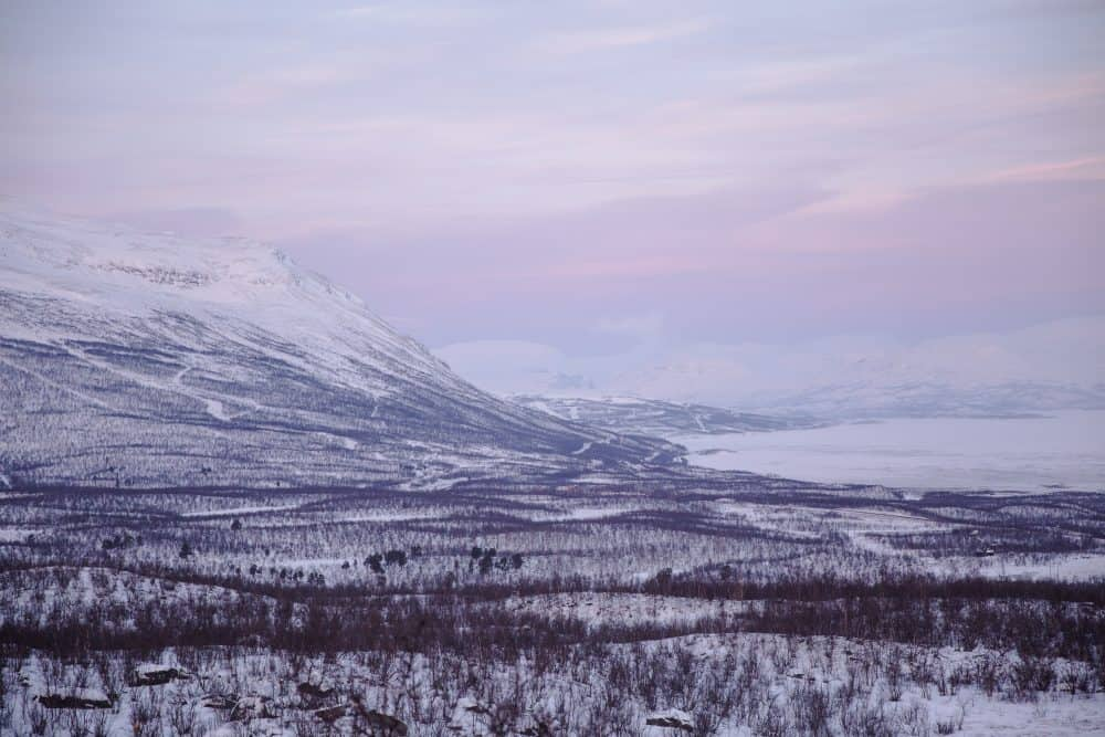 Abisko National Park in Sweden