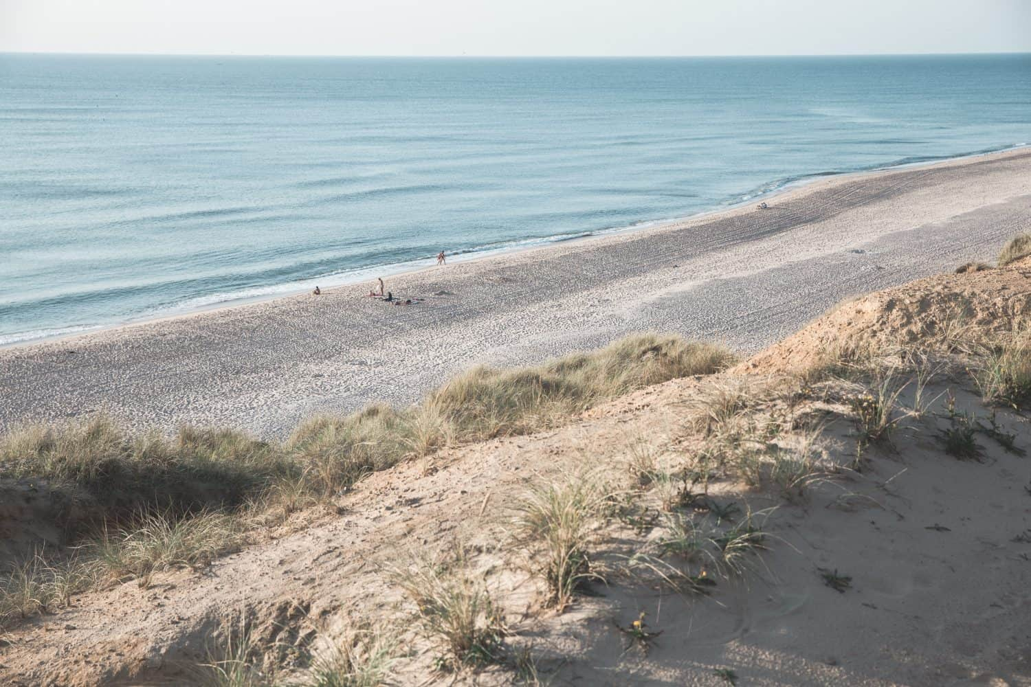 The Red Cliffs beach at Sylt in Germany. Sylt is one of 5 fun day trips from Hamburg!