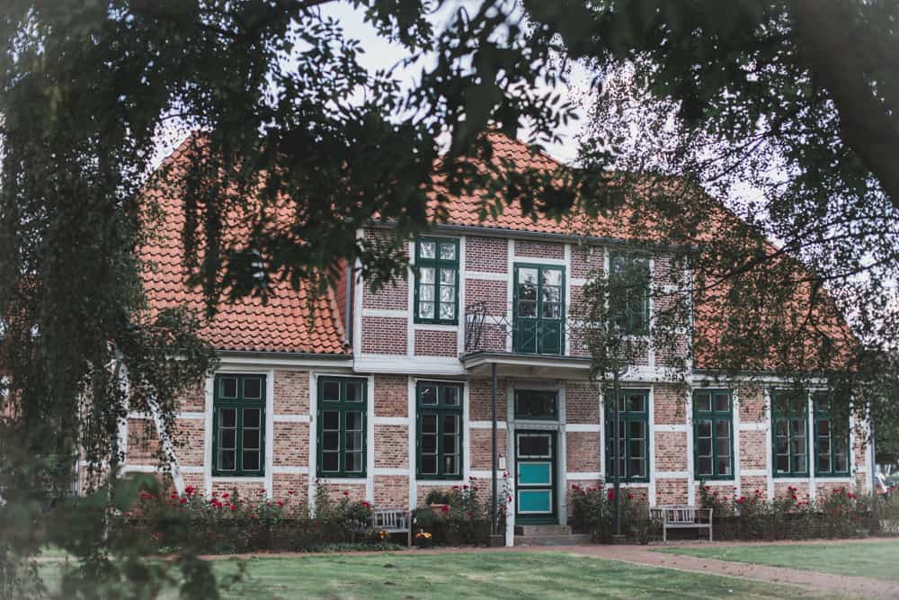 Pretty brick house in Altes Land in Germany