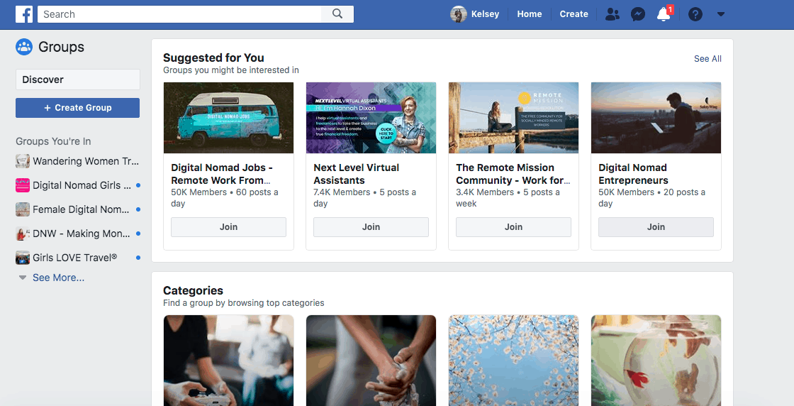Joining Blogger Facebook groups is essential to success as a blogger!