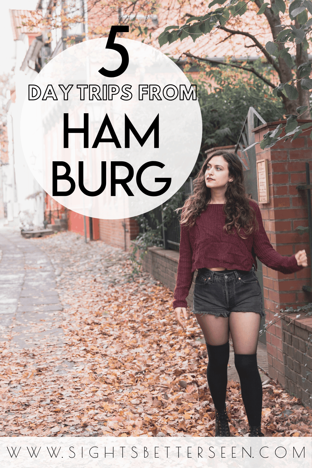 5 amazing day trips to take from Hamburg, Germany! Read this post to find out about Sylt, Lüneburg, Altes Land, Lübeck, and the Harz Mountains.