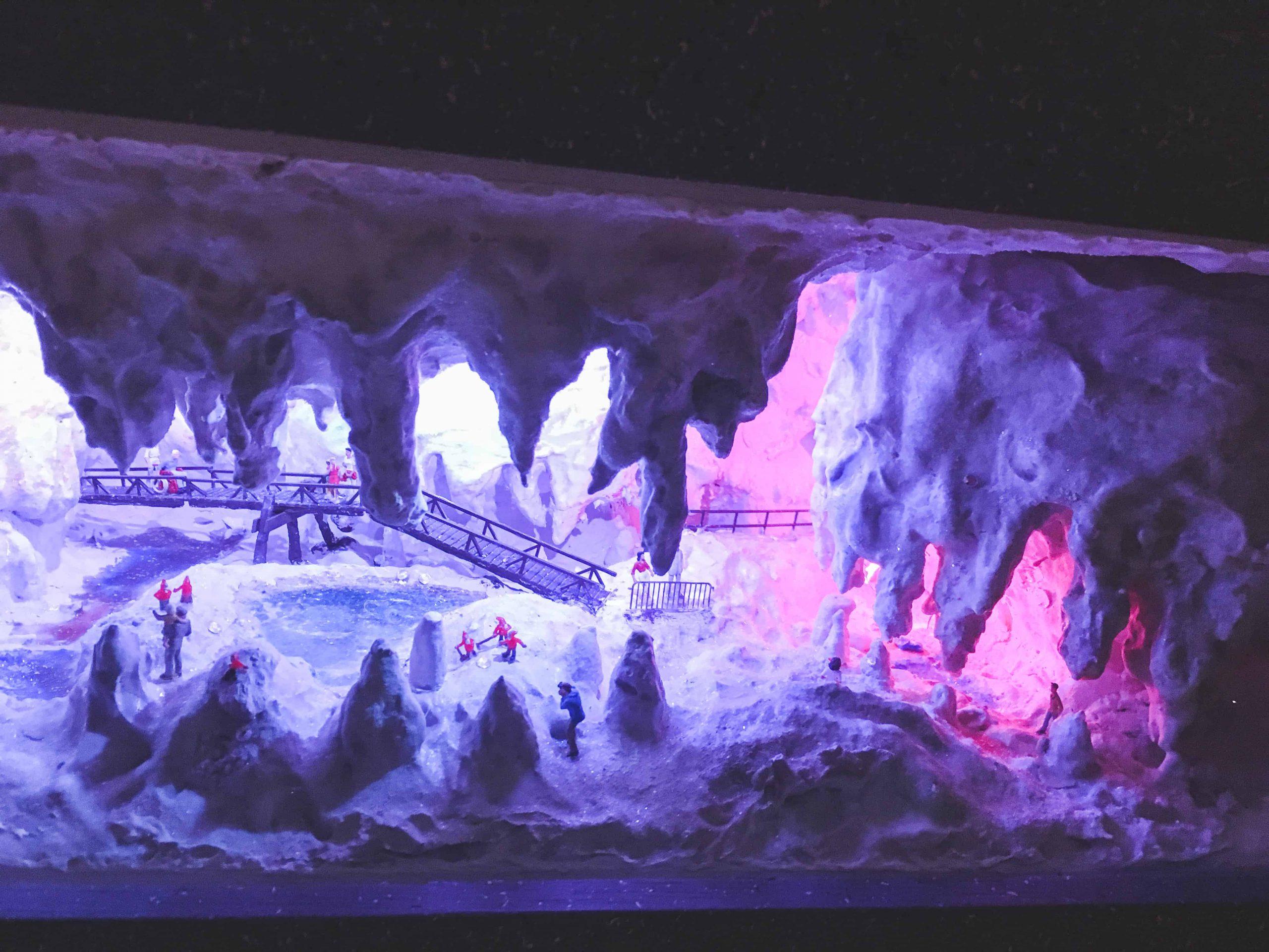 Cave installation in Miniatur Wunderland