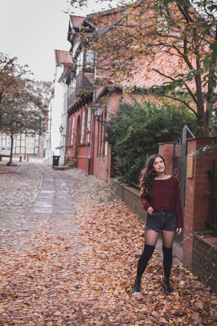 Kelsey, a digital nomad, in Lüneburg, Germany