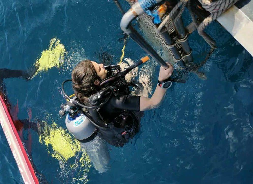 Scuba diving in Koh Lanta, Thailand