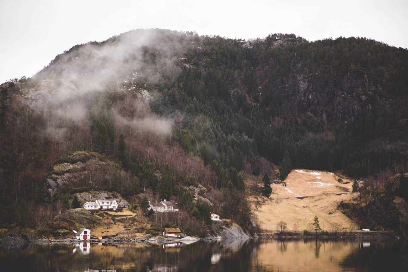 An image from the fjord cruise in Bergen, Norway