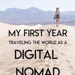 My First Year as a Digital Nomad: Reflections from 2019