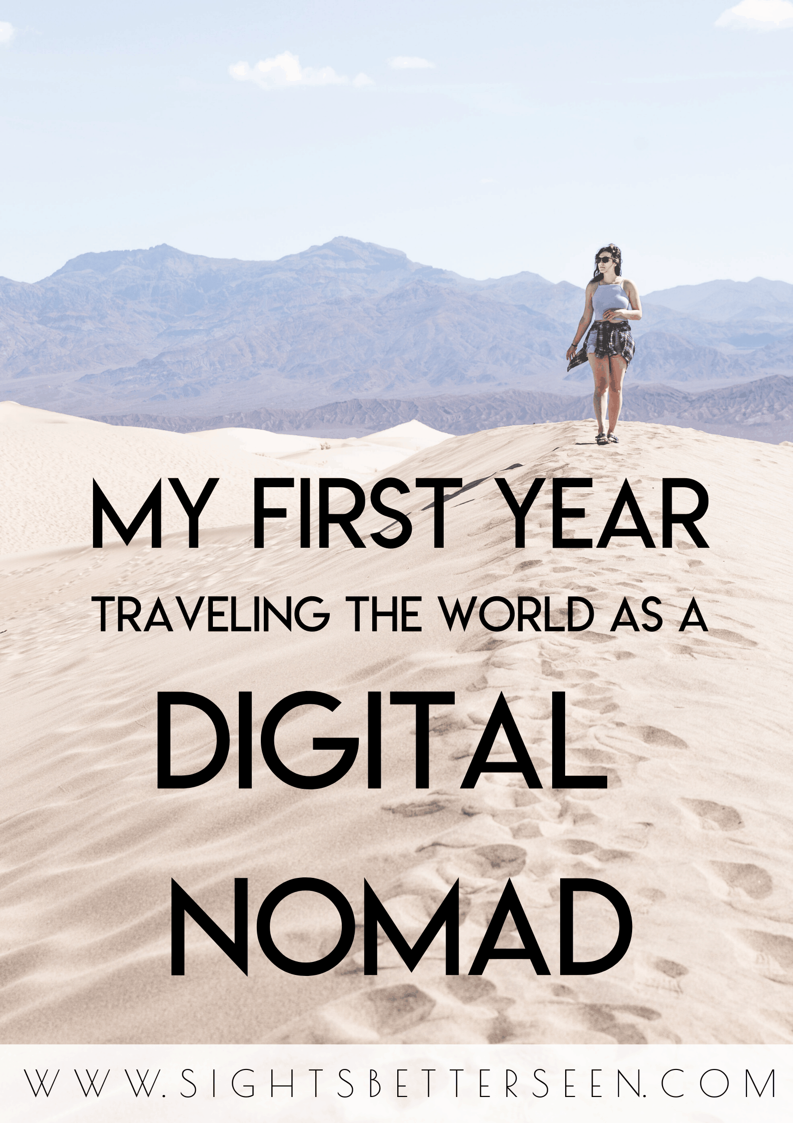 My first year as a digital nomad! Here's what it was like becoming a digital nomad, and how I navigate digital nomad life.