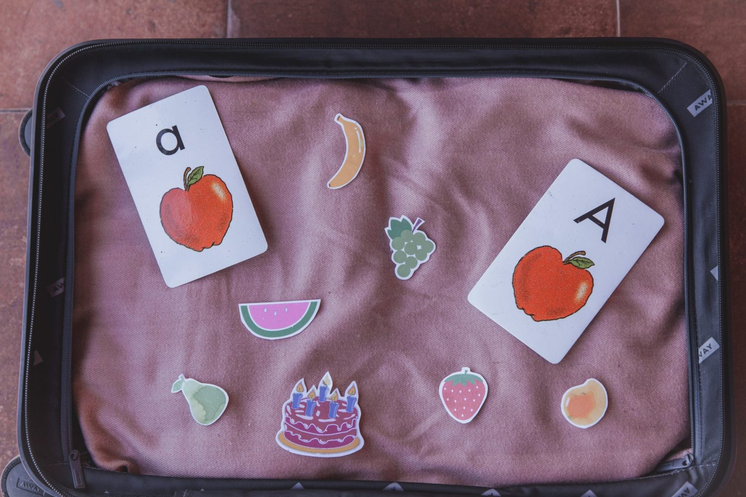 Fruit printables are easy props and rewards to use in your VIP Kid classroom.