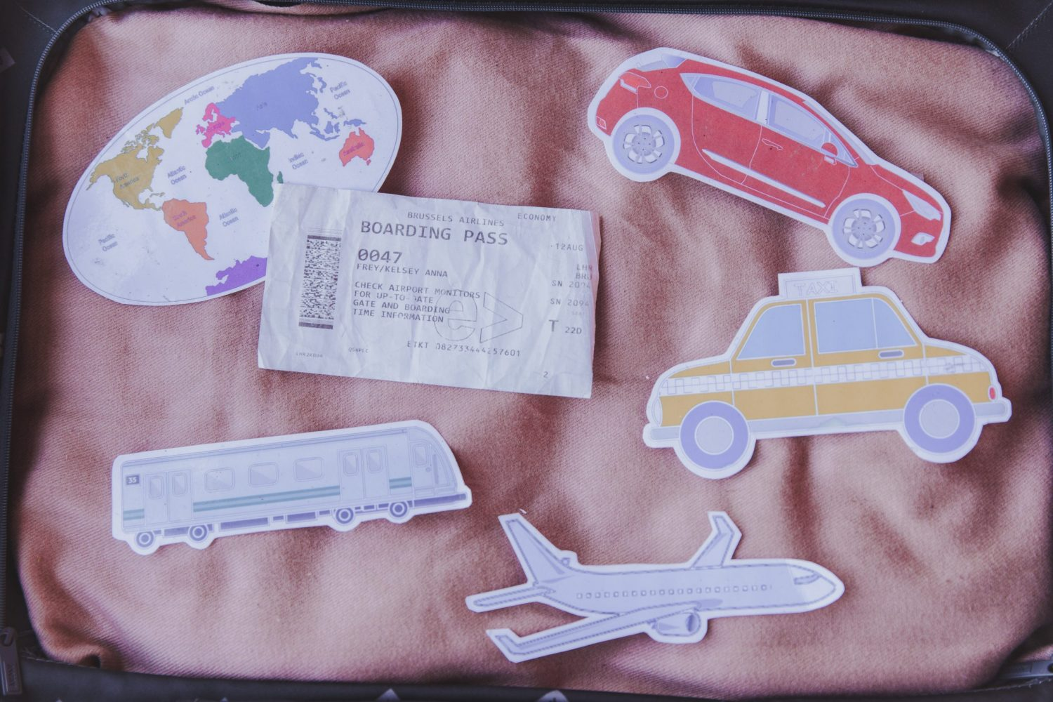 Travel props make great rewards for your VIP Kid students!