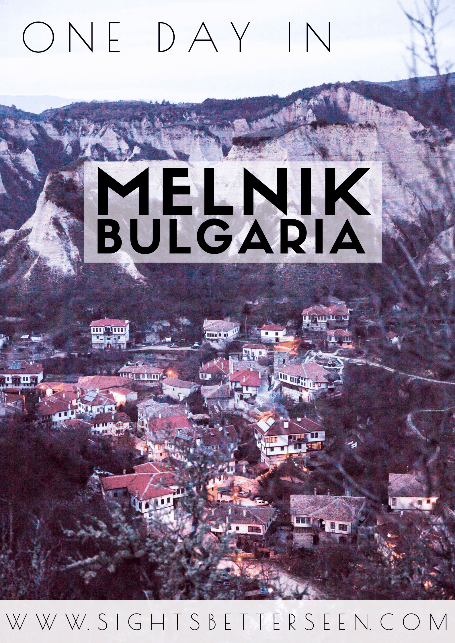 One day itinerary for Melnik, Bulgaria including wine, the Rozhen Monastery, Melnik Pyramids, and the best view of the town!