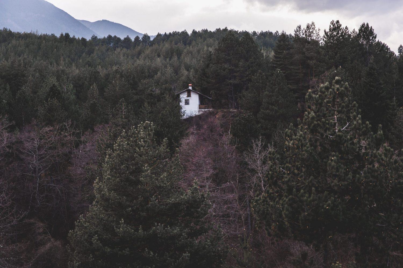 House in the woods in Bansko, Bulgaria