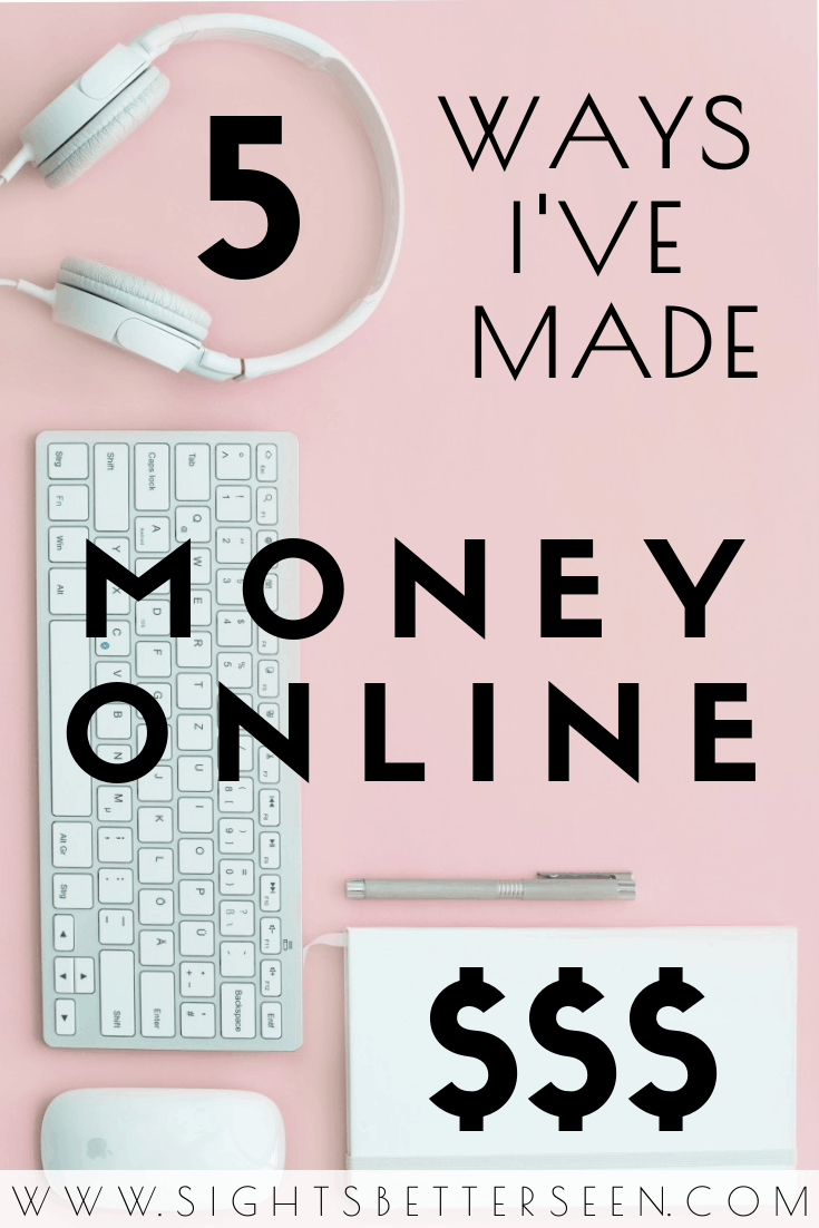 5 ways I've made money online working remotely, including how I found remote jobs and tips for finding remote work!