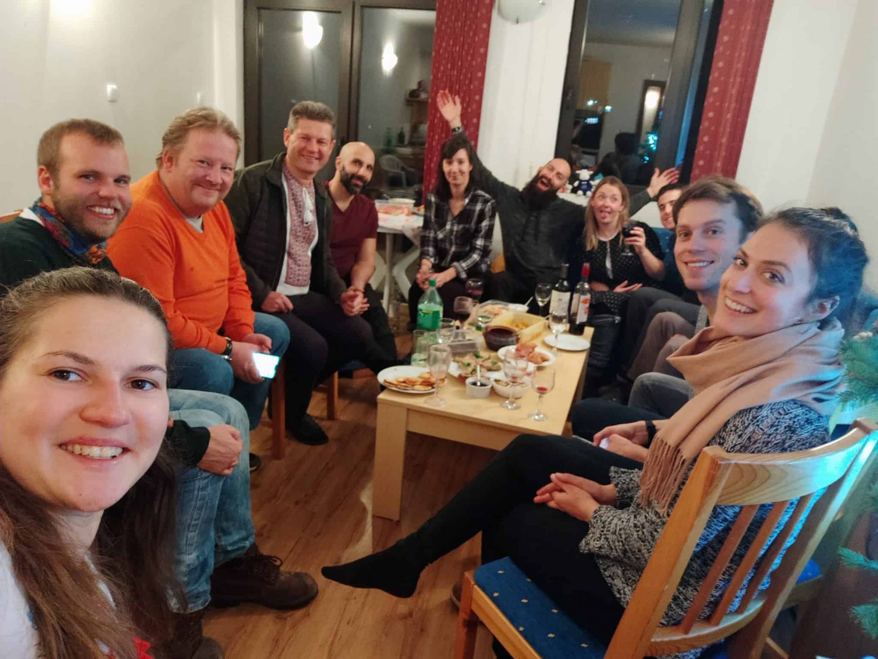 Friends in Bansko
