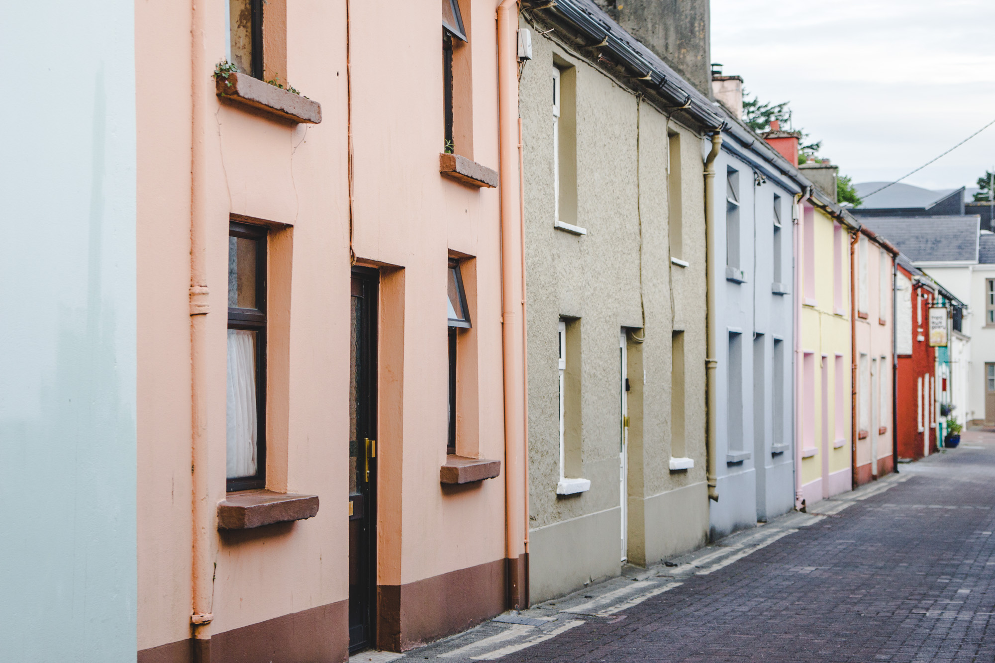 Colorful Houses in Killarney in Ireland