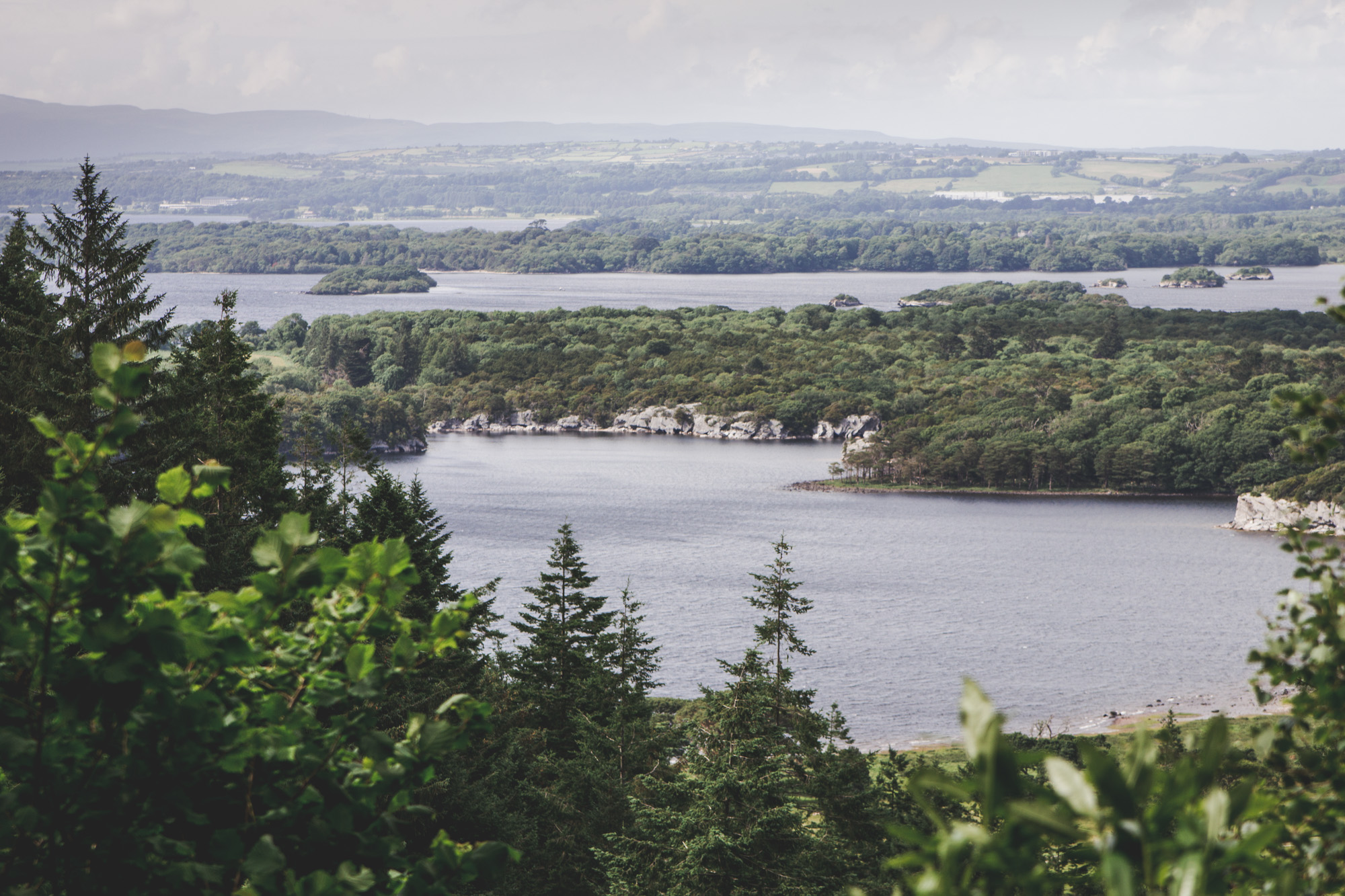 Torc Mountain Trail in Killarney National Park in Ireland