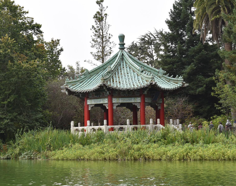 Stow Lake in Golden Gate Park in San Francisco, California