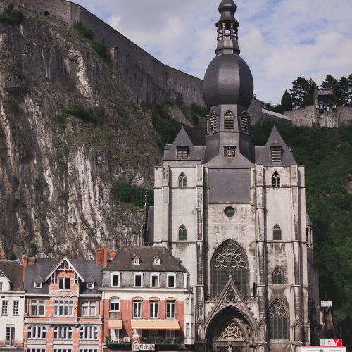 Collegiate Church of Our Lady in Dinant, Belgium
