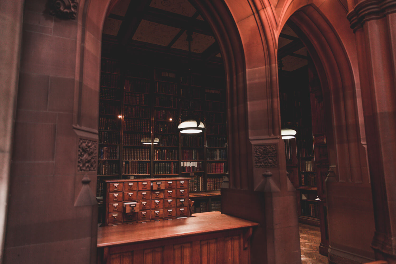 John Rylands Library in Manchester, UK