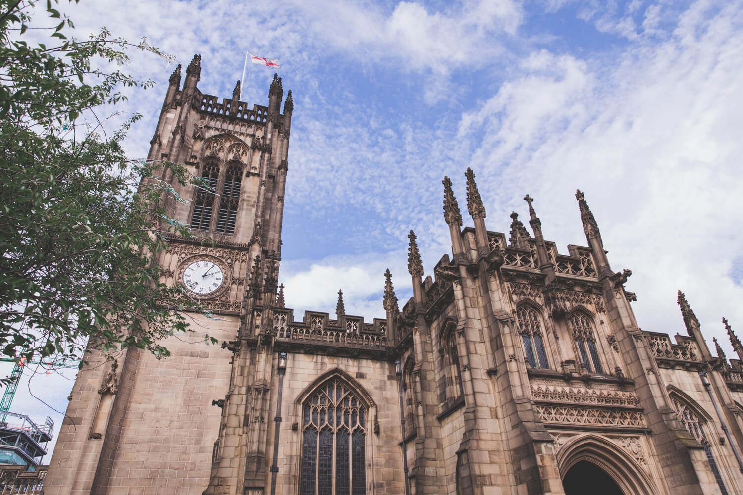 Manchester Cathedral in Manchester, UK